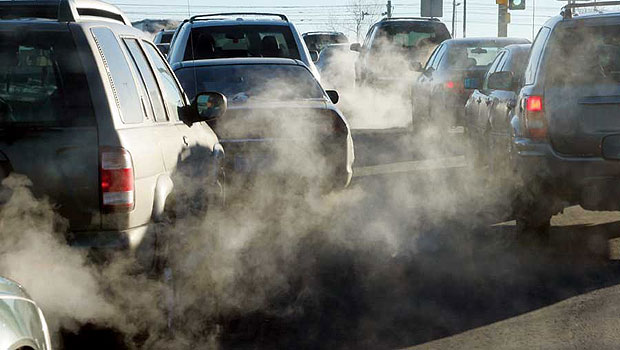 solutions to air pollution caused by traffic jams