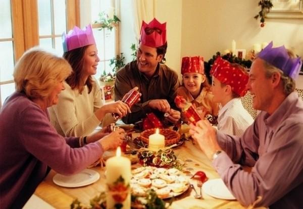 Праздник на новый год для семьи