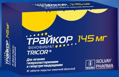 Фенофибрат (Трайкор) - фактор надежды для пациентов